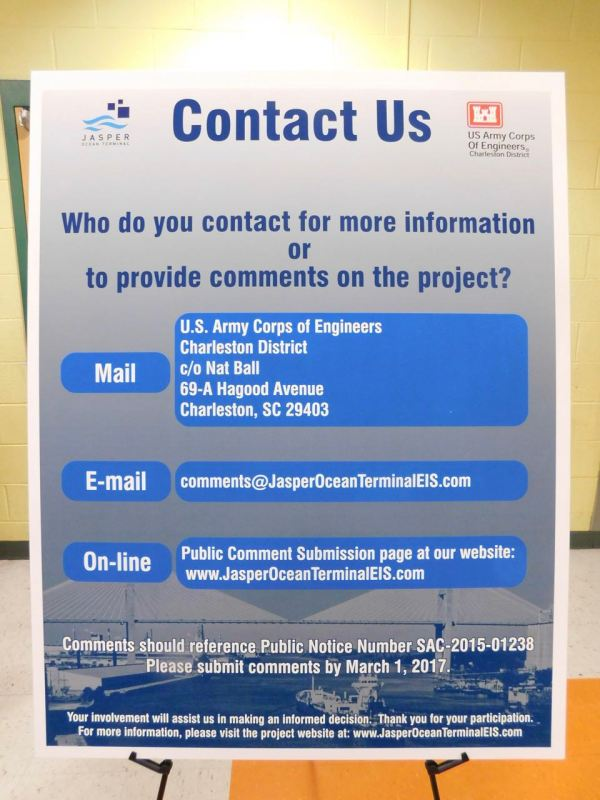 US Army Corps of Engineers Contact Info