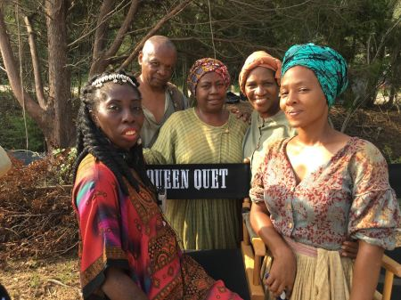 Queen Quet of Gullah/Geechee Consults for WGN's Underground
