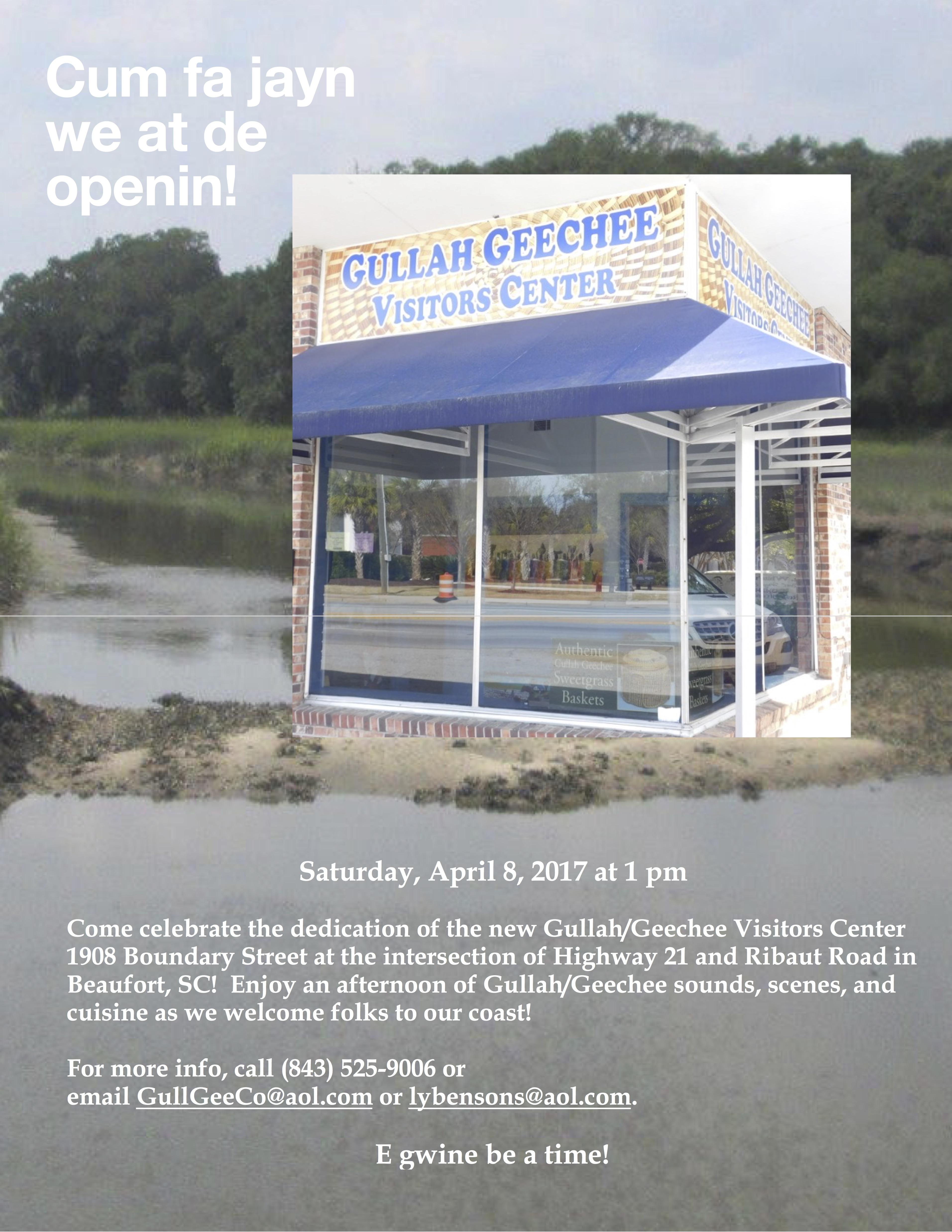 Gullah Geechee Visitors Center Grand Opening Gullah Geechee Nation
