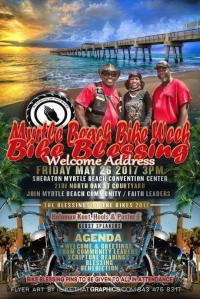 Myrtle Beach Bike Week Bike Blessing