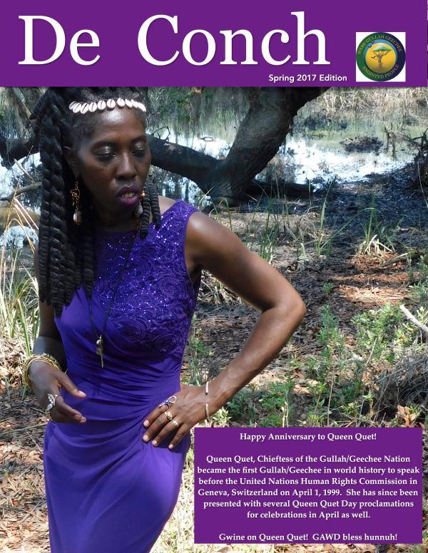 De Conch Spring 2017 Edition Cover