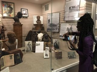 Queen Quet at South Dakota African American History Museum