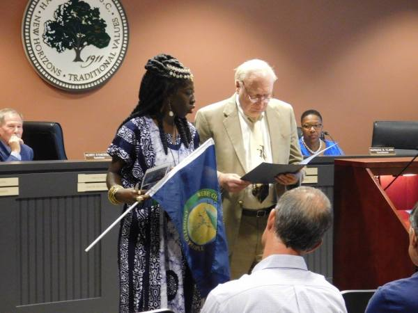 Queen Quet Receives Jasper County Gullah/Geechee Nation Proclamation
