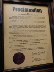 Hilton Head Gullah/Geechee Nation Appreciation Week Proclamation 2017