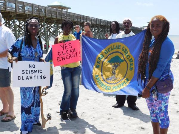 Gullah/Geechee Nation Opposes Oil Drilling and Seismic Guns