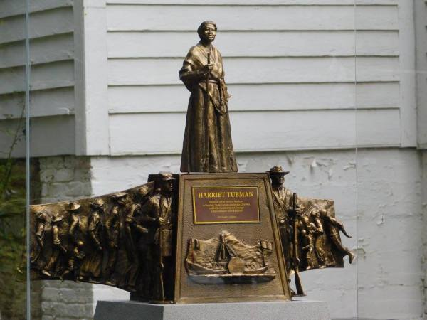Harriet Tubman Monument Model