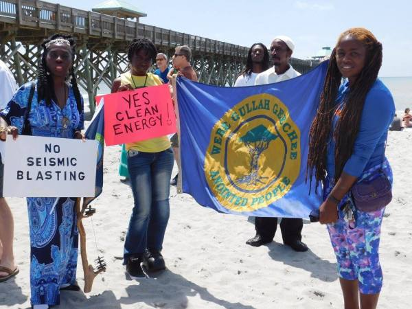 Gullah/Geechee Nation Against Oil Drilling