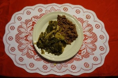 Hoppin John Greens & Cabbage