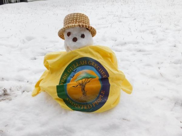 Queen Quet's Gullah/Geechee Snowman