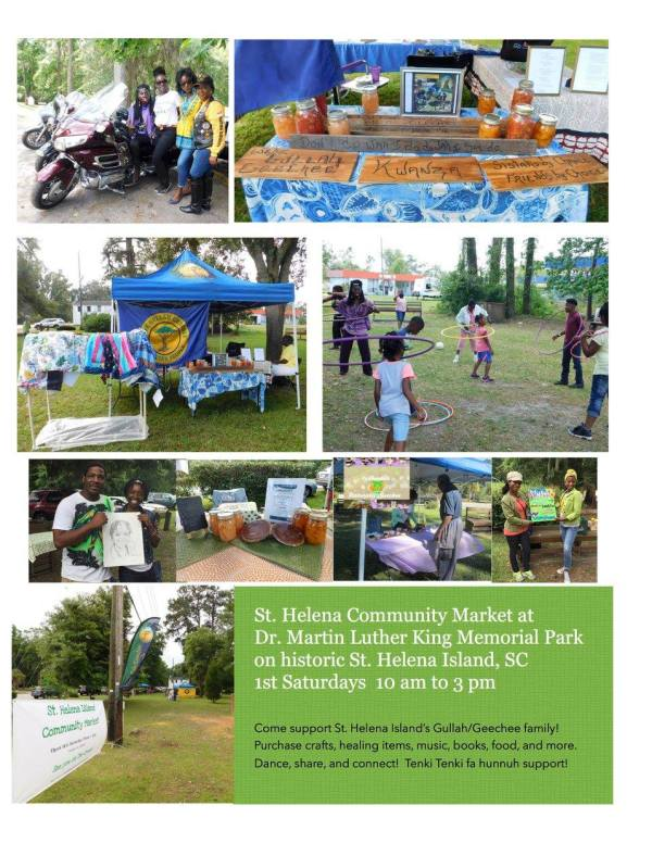 St. Helena Island Community Market 2018 Flyer