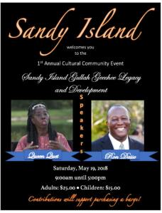 Sandy Island 1st Annual Cultural Community Event