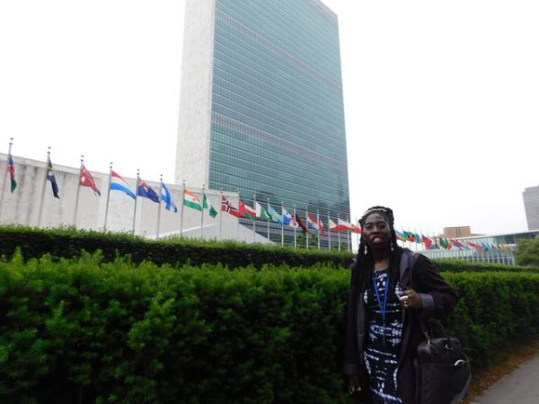 Queen Quet at United Nations
