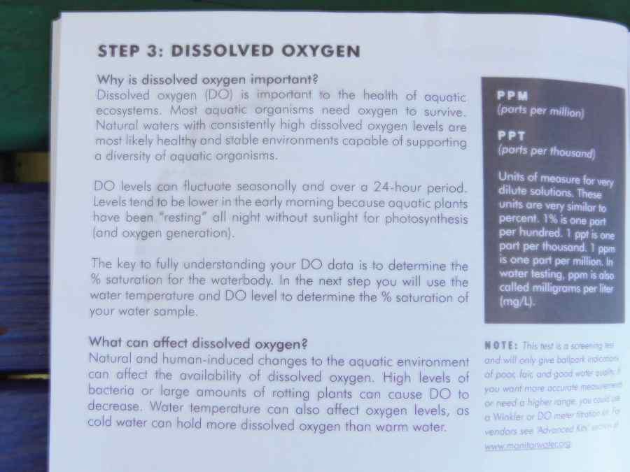 Dissolved Oxygen | Gullah/Geechee Nation