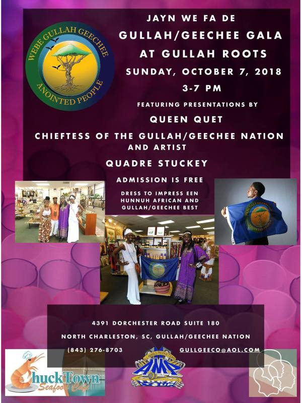 Gullah/Geechee Gala at Gullah Roots