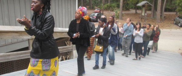 Queen Quetof the Gullah/Geechee Leading the Way
