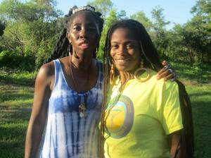 Queen Quet and Khetnu Nefer of the Gullah/Geechee Nation